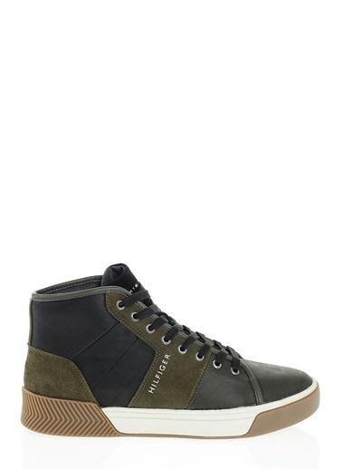 6de003fa4e962 Tommy Hilfiger Klasik Ayakkabı Haki Tommy Hilfiger Klasik Ayakkabı Haki